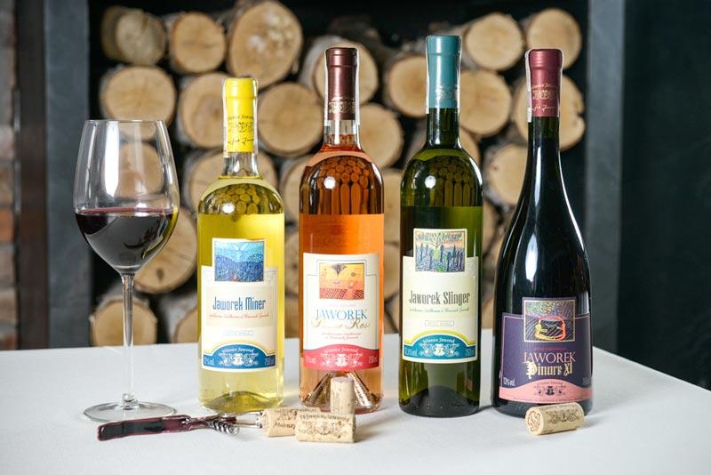 Wina Jaworek, polskie wino