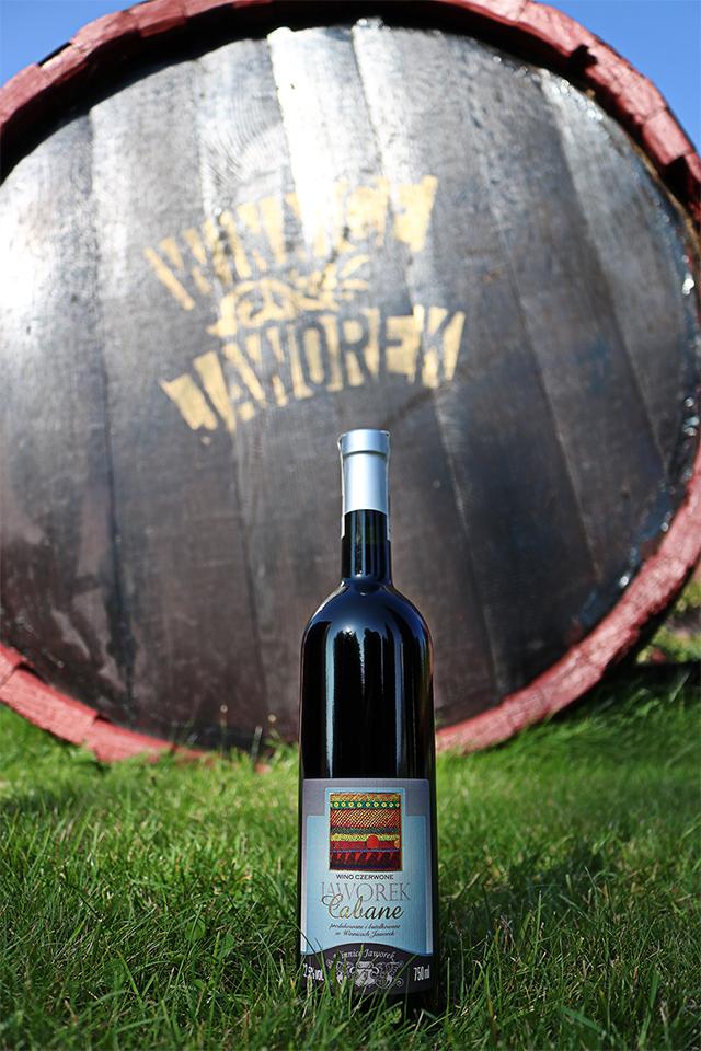 Jaworek Cabane, polskie czerwone wino
