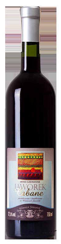 Wino czerwone wytrawne Jaworek Cabane 2016 - Winnice Jaworek 0610