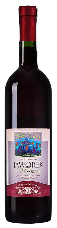 Jaworek Monare 2016 - polskie wino