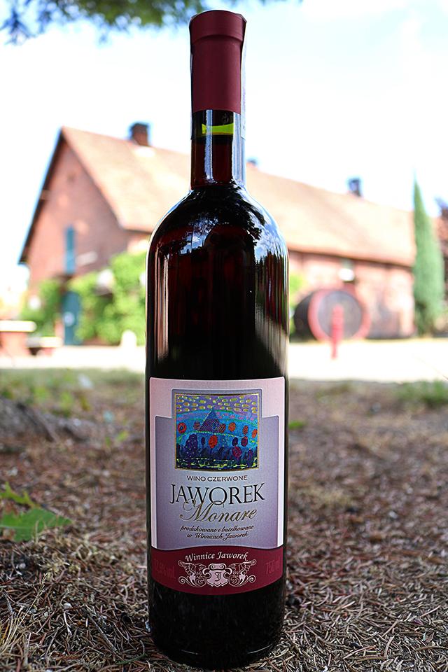 Czerwone wino Jaworek Monare 2016
