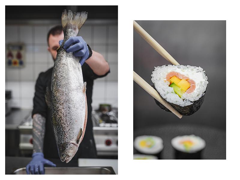 Sushi Menu. Winnice Jaworek