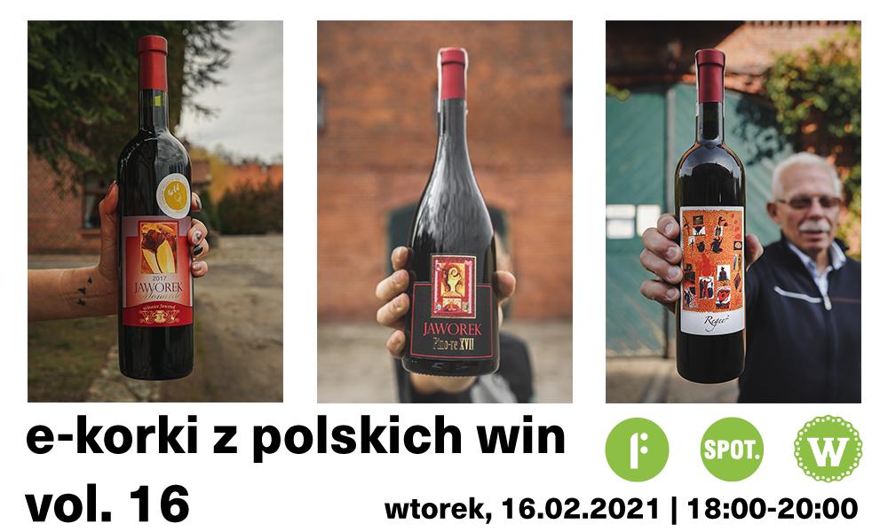e-korki z polskich win vol 16 - Winnice Jaworek